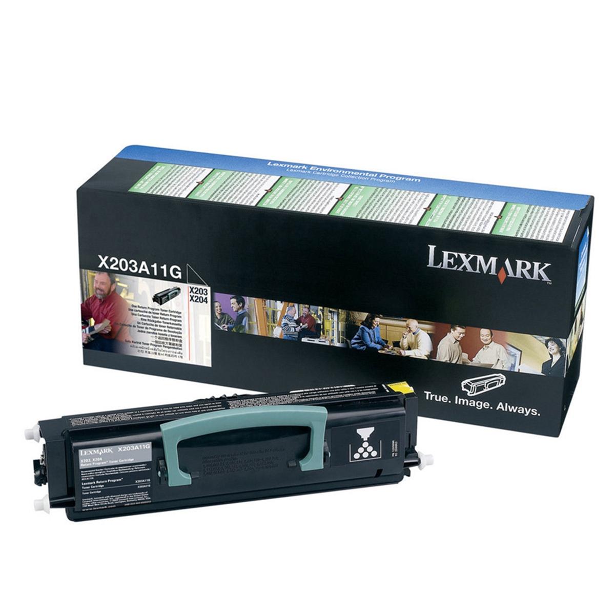 Refill laser Lexmark X203