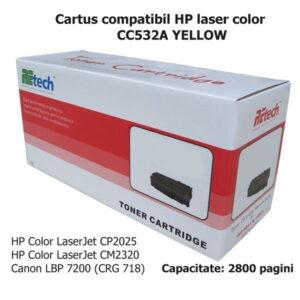 cartus_HP_CC532A_YELLOW_retech