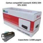 cartus_lexmark_X203_X204_retech