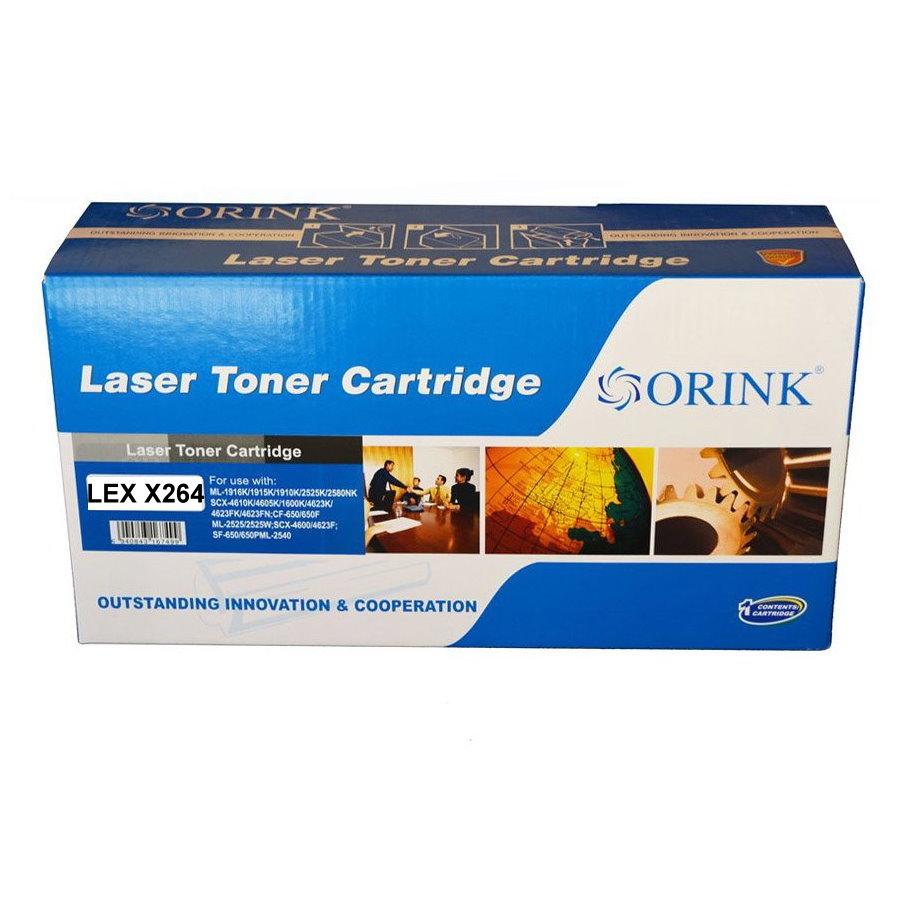 Black toner Lexmark Return X264 9K
